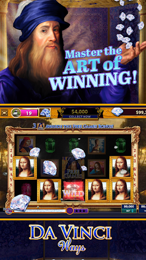 Da Vinci Diamonds Casino u2013 Best Free Slot Machines cheat screenshots 2