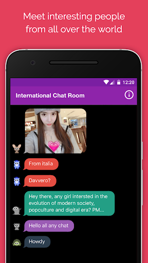 Anonymous Chat Rooms AntiChat app (apk) free download for Android/PC/Windows screenshot
