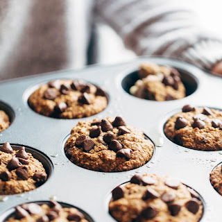 Amazingly Wholesome 5 Ingredient Banana Bread Muffins