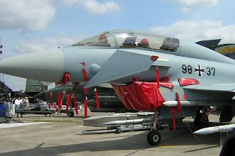 Photo: Eurofighter Typhoon w wersji 2-osobowej (niemieckiej Luftwaffe)