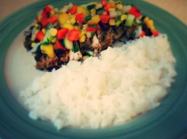Jerk Chicken With Salsa Recipe