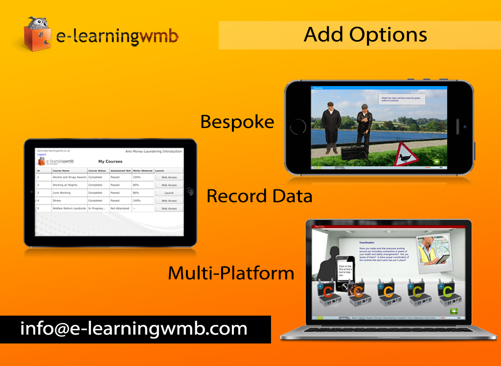 e-Learning WMB e-Learning demo- screenshot