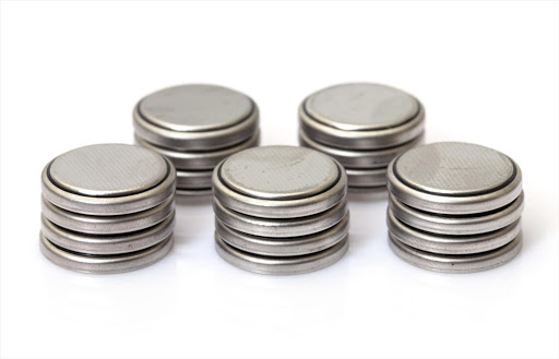 Coin Lithium batteries. File photo.