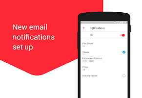screenshot of myMail: Email App for Gmail, Hotmail & AOL E-Mail