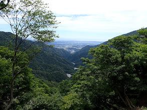 治田峠付近から青川方面