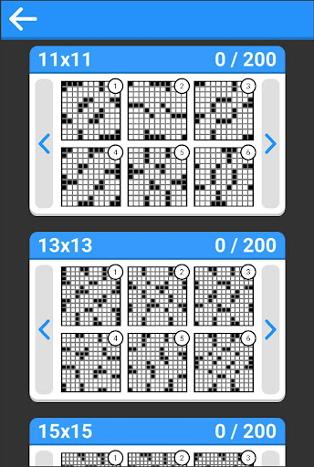 Crosswords - 800 easy and hard crossword puzzles 1.0 Mod screenshots 2
