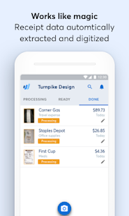 receipts by wave for business apps on google play
