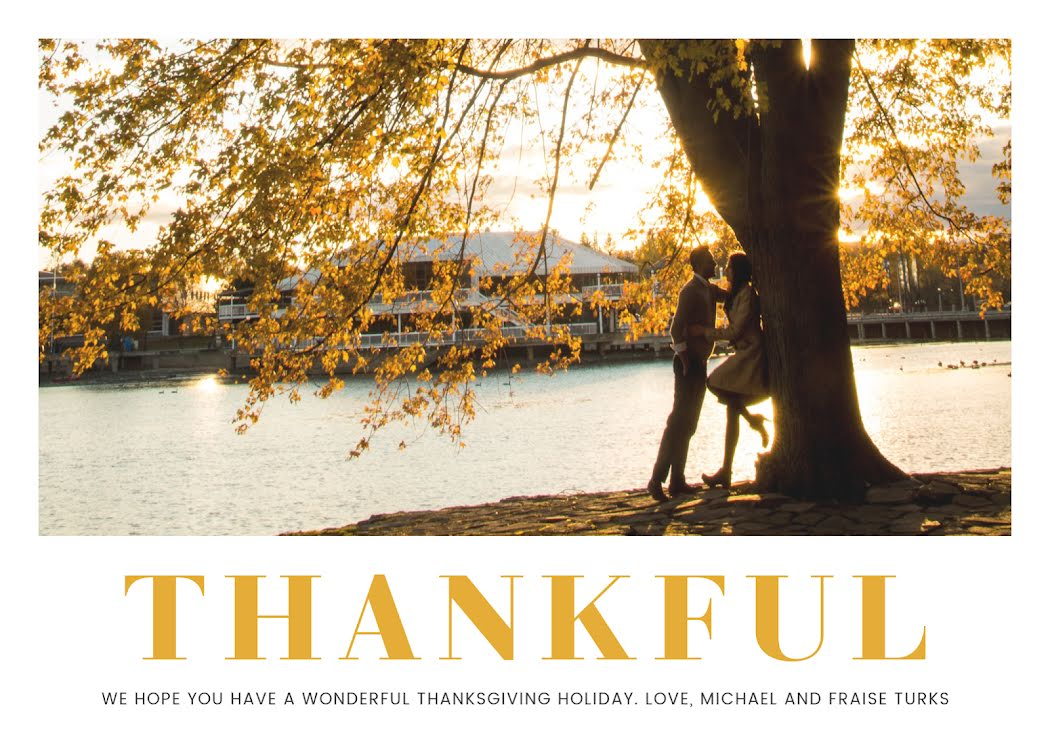 Thankful Holiday - Thanksgiving Template