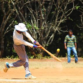 Six by Rajkumar Biswas - Sports & Fitness Cricket