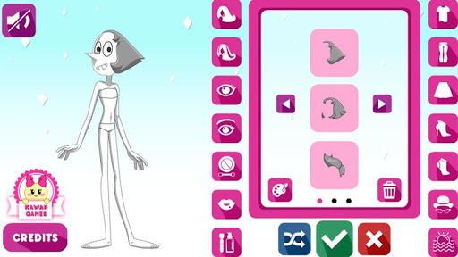 Crystal Gem Pearl Dress Up Game for PC