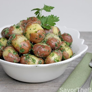 Parsley Baby Red Potatoes