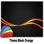 Theme - BlackOrange Icon