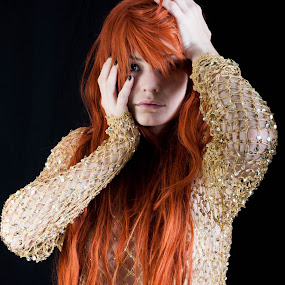 Redhead by Denis Sinoussi - People Portraits of Women ( fashion, makeup, web, redhead, fashion photography, , best female portraiture )