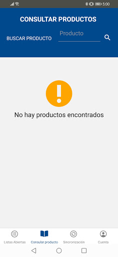 Inventario Mets Mobile screenshot 8
