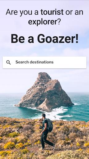 GOAZ: Travel Stories, Trips & Tips. Be an Explorer 6.21 screenshots 1