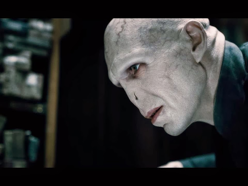 Photo: Voldemort, from the Harry Potter movies