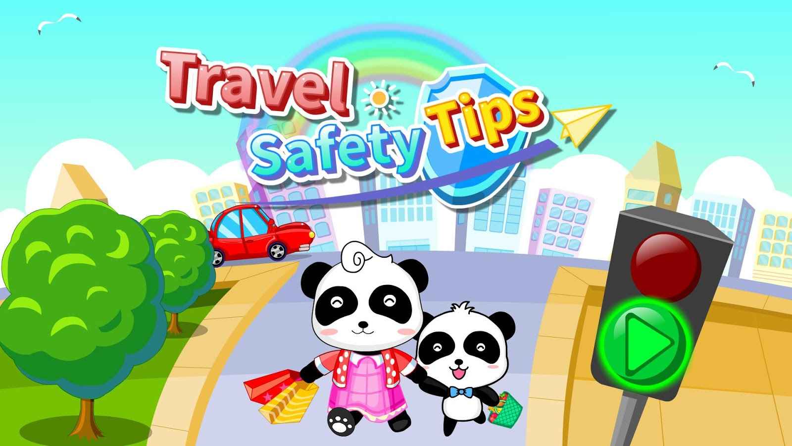 Travel Safety - Free for kids- screenshot