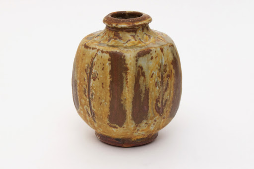 Mike Dodd Ceramic Bottle 08