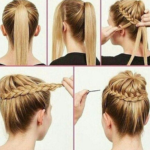 Simple hairstyle tutorial android apps on google play simple hairstyle tutorial screenshot urmus Choice Image