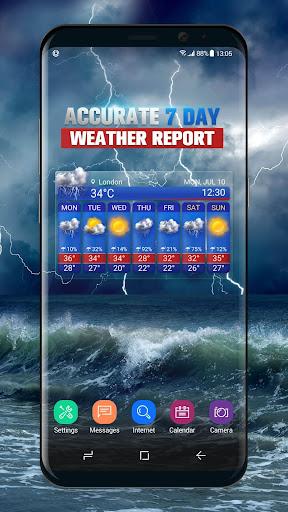 Free Weather Forecast App Widget 16.6.0.50076 screenshots 1