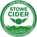 Stowe Cider Tuned Up Hazy Cranberry Orange Cider