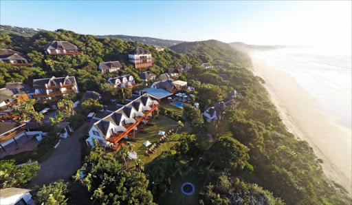 CHECKING OUT: Like many hotels and resorts along the Sunshine and Wild coasts, Crawfords Beach Lodge in Chintsa East was fully booked this festive season Picture: SUPPLIED