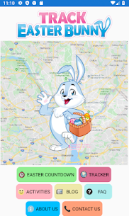 Easter Bunny Tracker – Where is the Easter Bunny? 1