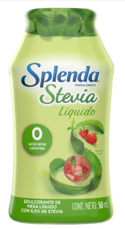 Edulcorante Splenda Stevia