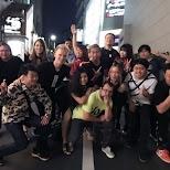 ParaPara crew in Tokyo, Tokyo, Japan