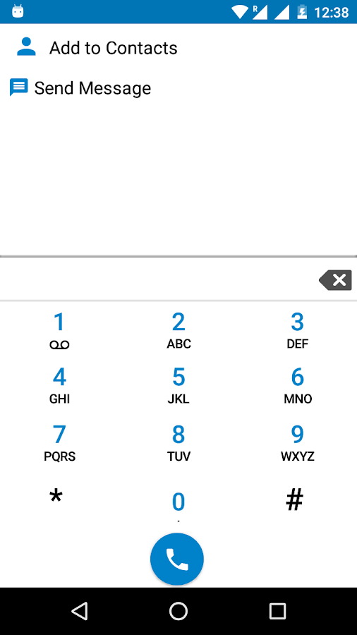 Marshmallow Dialer - Android 6- screenshot