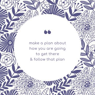 Follow That Plan - Instagram Post Template