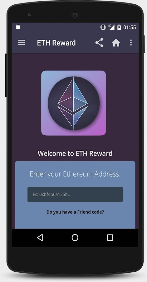 ETH Reward - Earn Free Ethereum- screenshot