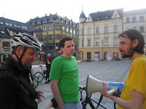 Photo: pan Jungwirth (Elbikes), Tomáš Řeháček (REC, Mobile 2020), Pavel Matějka (Cyklisté Liberecka)  Autor: Sylva Švihelová