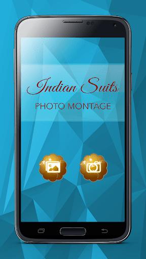 インドのスーツフォトモンタージュ