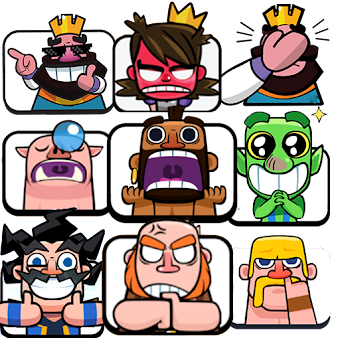 Stickers Clash Royale - WAStickerApps