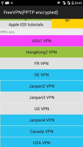 玩工具App|100%免费一键翻墙PPTP VPN,不限时,不注册免費|APP試玩