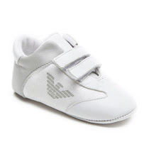 Armani Junior Hook and Loop Pre-Walker VELCRO