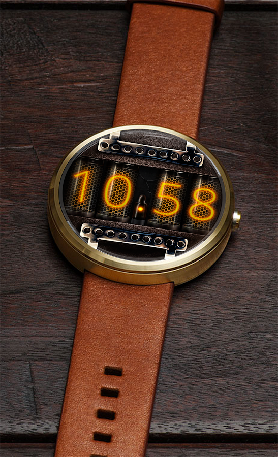 Watch Face Nixie Tubes Android Apps On Google Play