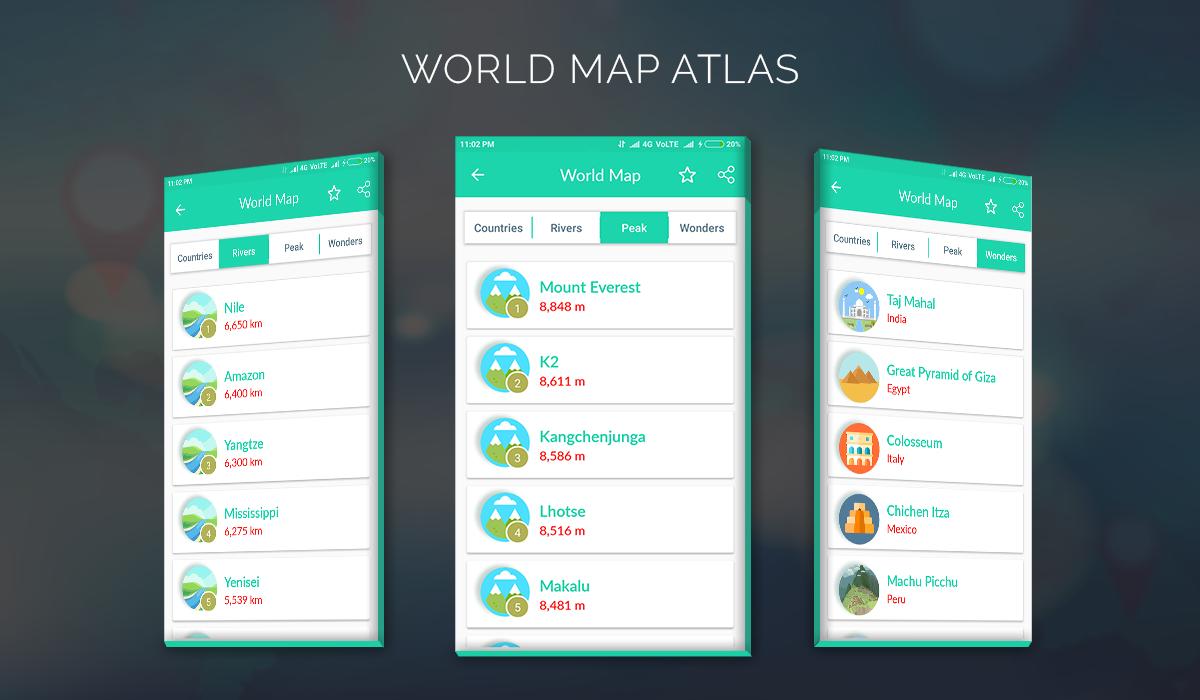 Offline world maps android apps on google play offline world maps screenshot gumiabroncs Gallery