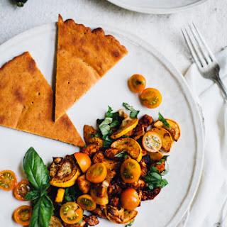 Millet Socca (gluten free, vegan)