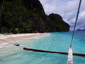 Photo: Entatula Island Beach Club, Palawan, Philippines.