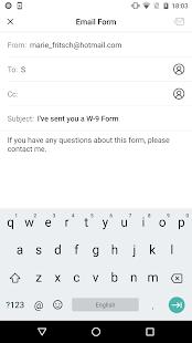 IRS W-9 form - náhled