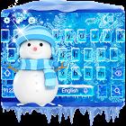 Ice Frozen Keyboard Theme icon