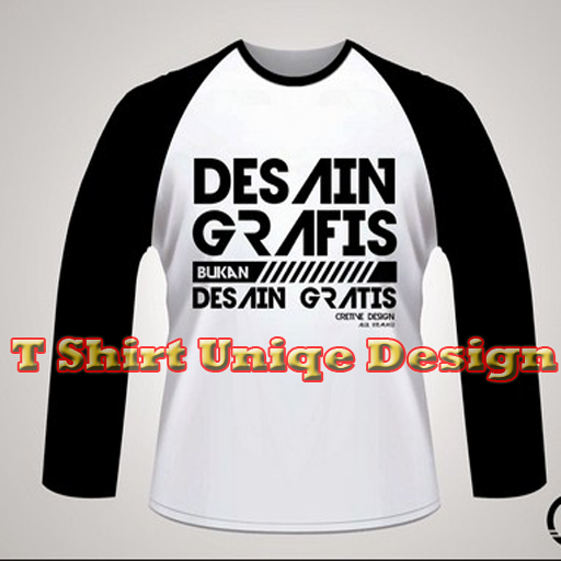 Desain Kaos Unik Aplikasi Di Google Play