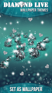 Diamond Live Wallpaper Themes - náhled