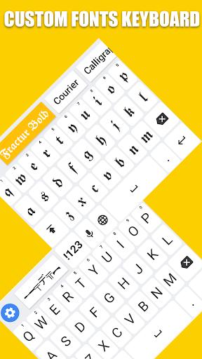 Fonts Keyboard - Text Fonts & Emoji 1.1.4 screenshots 1