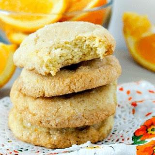 Orange Dreamcicle Cookies