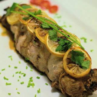 Mushroom Stuffed Pork Tenderloin