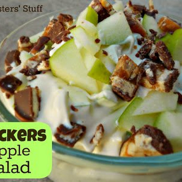 Snickers Apple Pudding Salad Recipe