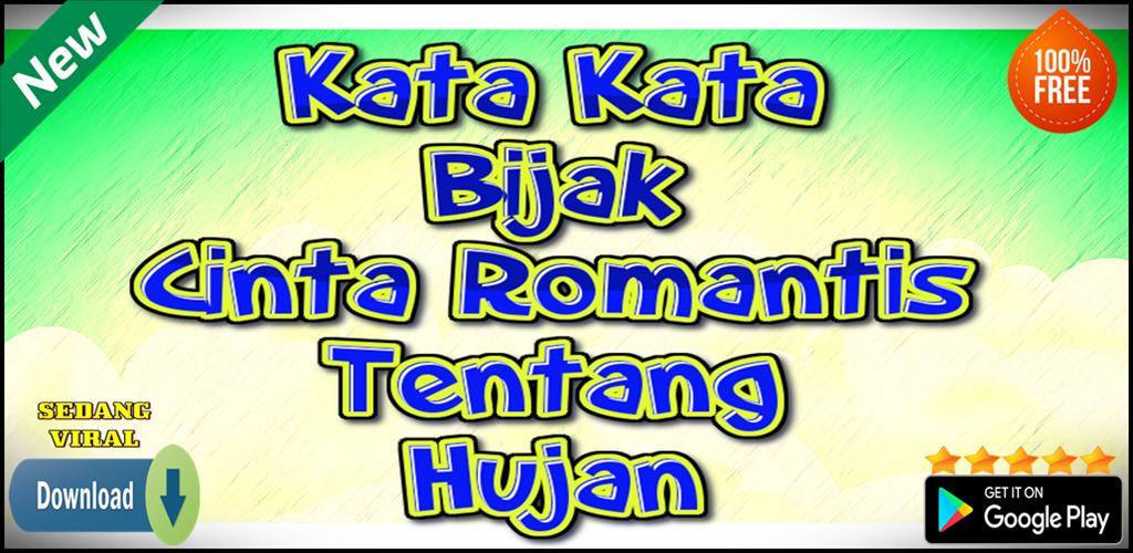 Kata Kata Bijak Cinta Romantis Tentang Hujan 101 Apk
